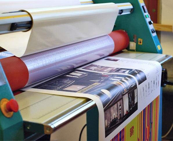 Ламинация бумажных этикеток