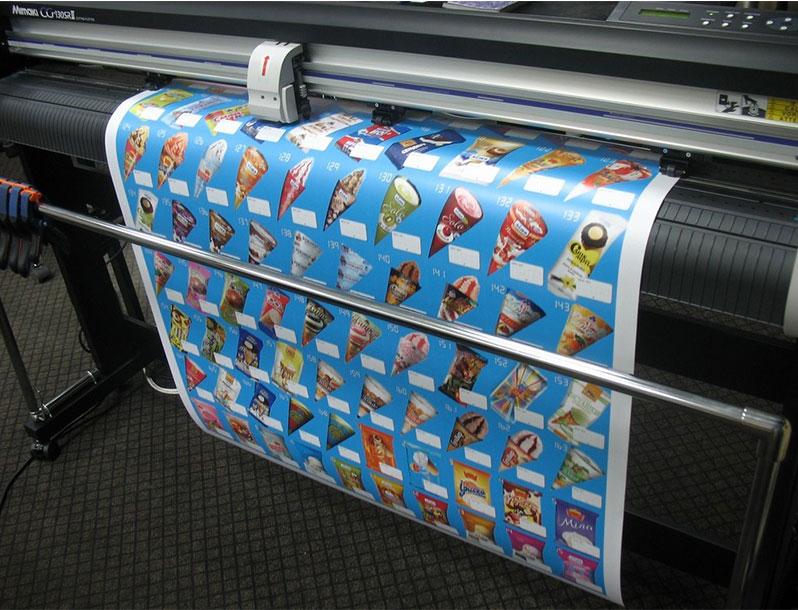 Цифровая печать на бумаге