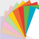 Этикетки на листах А4, Красный, (35 х 297 мм.), 500 листов