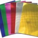 Этикетки на листах А4, Металлизированная бумага (серебро), (48.5 х 16.9 мм.), 100 листов