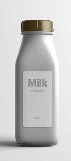 Этикетки на молочные продукты
