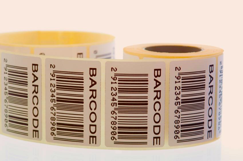 Печать штрихкода на наклейках