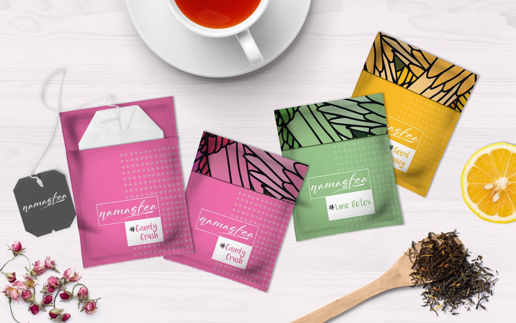 Этикетки для чая